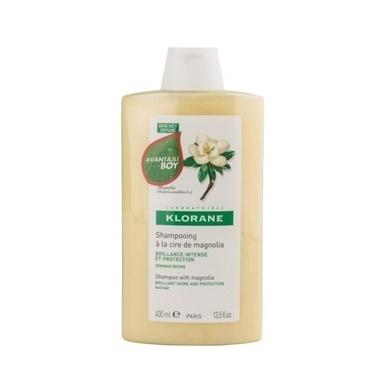 Klorane KLORANE Shampooing magnolia 400 ml - Manolya ekstreli şampuan (ışıltı veren) Renksiz